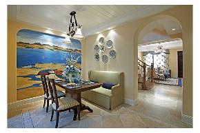 田园 二居 白领 收纳 旧房改造 80后 小资 餐厅图片来自今朝小伟在地中海田园格调氛围空间的分享