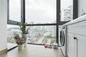 白领 收纳 旧房改造 80后 小资 阳台图片来自今朝小伟在北欧风格loft,梦想中的家的分享