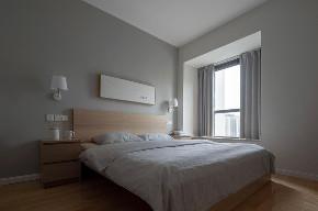简约 二居 收纳 旧房改造 白领 小资 80后 卧室图片来自今朝小伟在整体留白简单的木色为主的分享