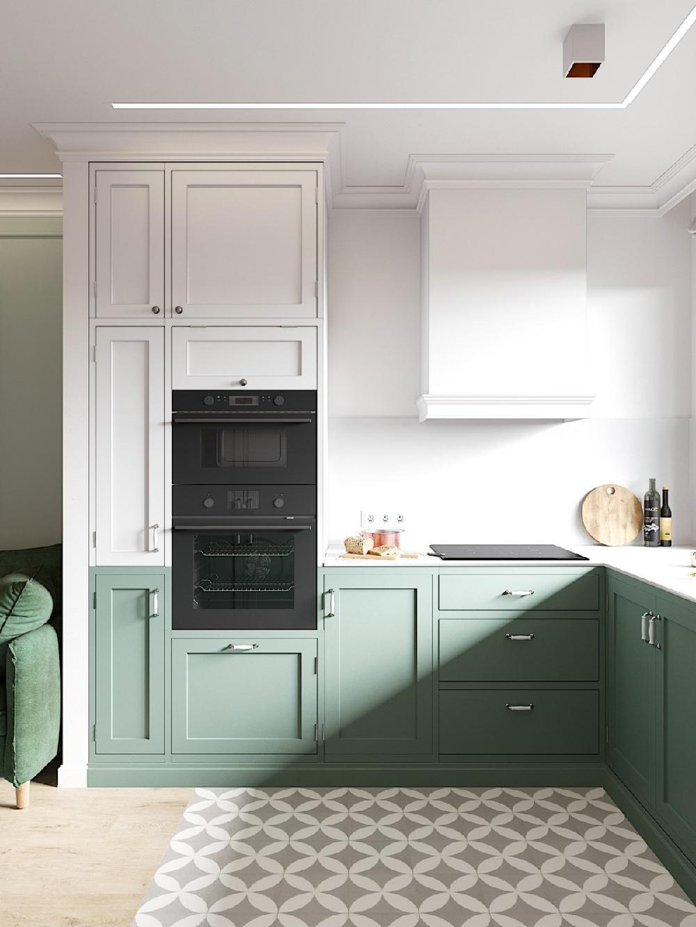 二居 白领 收纳 旧房改造 80后 小资 厨房图片来自今朝小伟在二居室现代小清新的分享