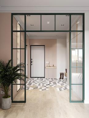 二居 白领 收纳 旧房改造 80后 小资 玄关图片来自今朝小伟在二居室现代小清新的分享