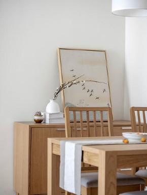 简约 二居 收纳 旧房改造 白领 小资 80后 餐厅图片来自今朝小伟在整体留白简单的木色为主的分享