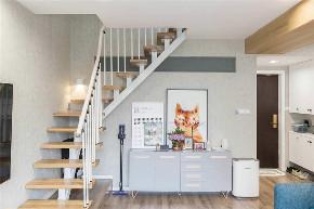 白领 收纳 旧房改造 80后 小资 楼梯图片来自今朝小伟在北欧风格loft,梦想中的家的分享