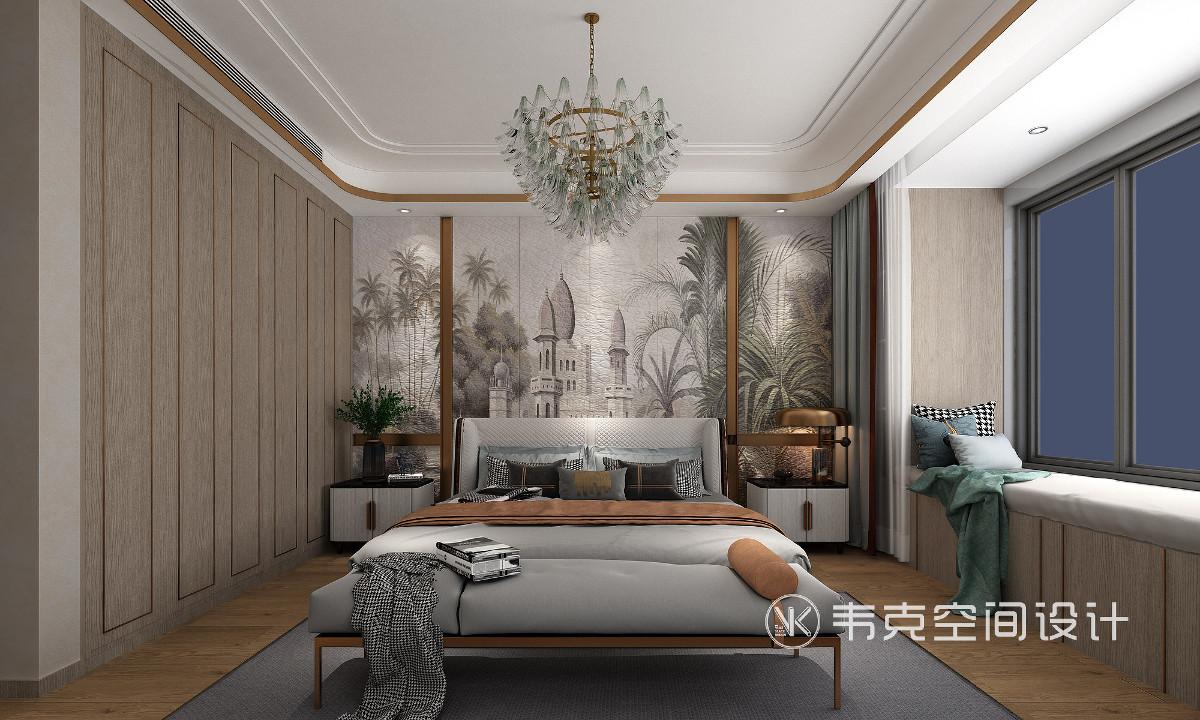 都市人在忙碌的一天过后,特别向往安静舒适的睡前时间,透过卧室窗前夜色洗涤身心的疲惫,回到悠然静心的境界。