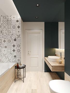 二居 白领 收纳 旧房改造 80后 小资 卫生间图片来自今朝小伟在二居室现代小清新的分享