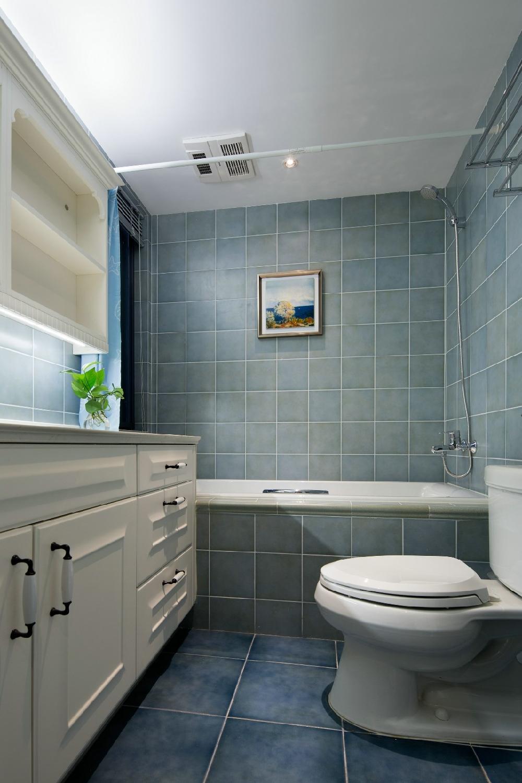 二居 白领 收纳 旧房改造 80后 小资 卫生间图片来自今朝小伟在设计体验生活-悠然美式格调的分享