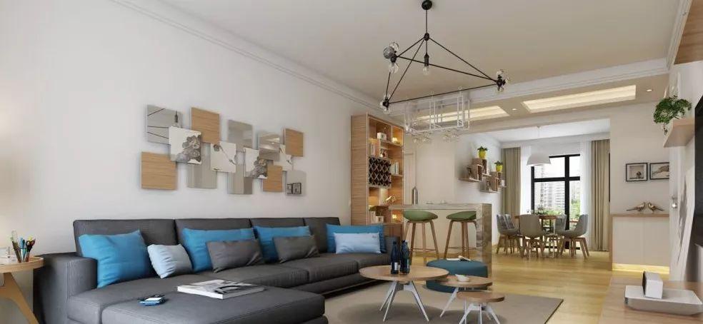 欧式 三居 简约 客厅图片来自晋级装饰官方在湾133平北欧风格的分享