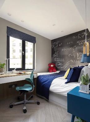 混搭 二居 白领 收纳 旧房改造 80后 小资 卧室图片来自今朝小伟在混搭风学区房,惊艳到的不仅是你的分享