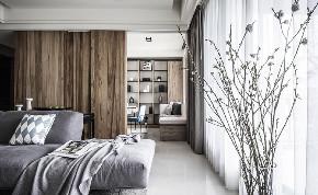 简约 二居 白领 收纳 旧房改造 80后 小资 卧室图片来自今朝小伟在120㎡勾勒简约风格梦幻两居室的分享