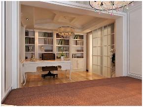 二居 白领 收纳 旧房改造 80后 小资 书房图片来自今朝小伟在豪华大气不失随意自在的美式新家的分享