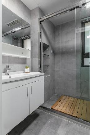 二居 简约 白领 收纳 旧房改造 80后 小资 卫生间图片来自今朝小伟在简约的生活态度,温馨的生活环境的分享