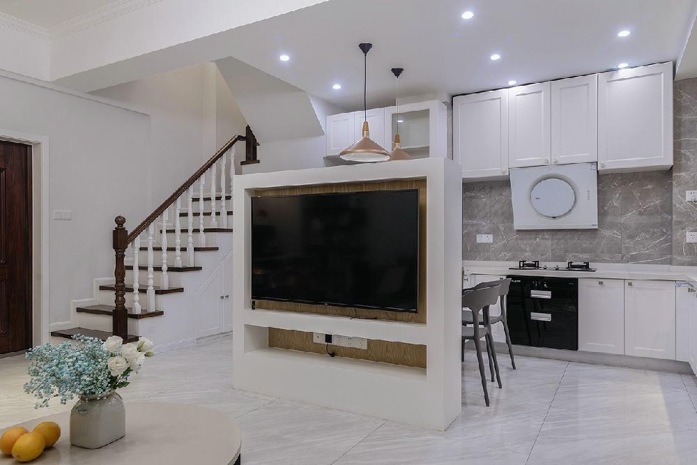 二居 白领 收纳 旧房改造 80后 小资 楼梯图片来自今朝小伟在北欧loft户型,时尚简约的分享