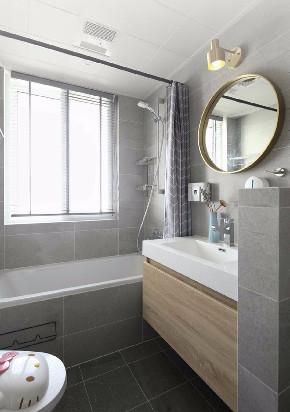 二居 白领 收纳 旧房改造 80后 小资 卫生间图片来自今朝小伟在北欧时光的分享