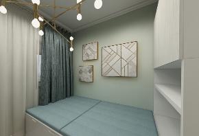 简约 二居 白领 收纳 旧房改造 80后 小资 卧室图片来自今朝小伟在65平现代简约风精致小家的分享