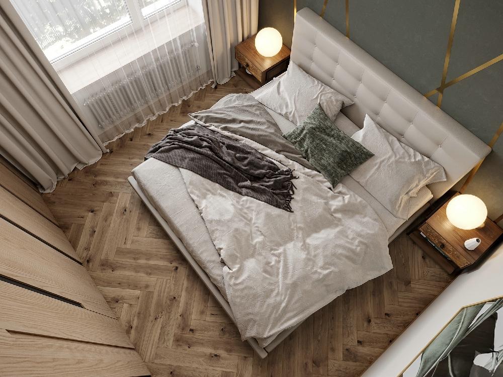 二居 白领 旧房改造 收纳 80后 小资 卧室图片来自今朝小伟在80平米空间,简约北欧的分享