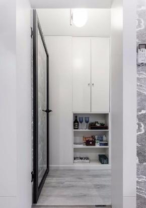 白领 收纳 旧房改造 80后 小资 衣帽间图片来自今朝小伟在50平米一居北欧风格居室的分享