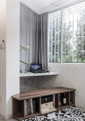 白领 收纳 旧房改造 80后 小资 阳台图片来自今朝小伟在50平米一居北欧风格居室的分享
