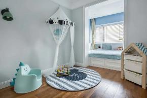 白领 收纳 旧房改造 80后 小资 儿童房图片来自今朝小伟在简欧复式,打造清新居心地的分享