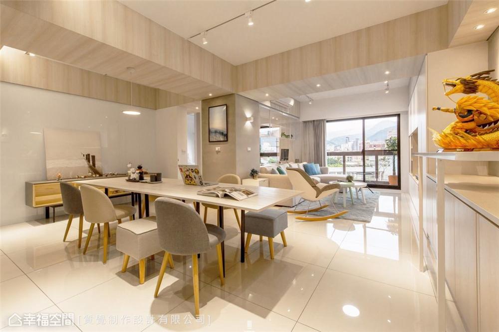 餐厅图片来自幸福空间在83平,明亮素净的温暖居家的分享