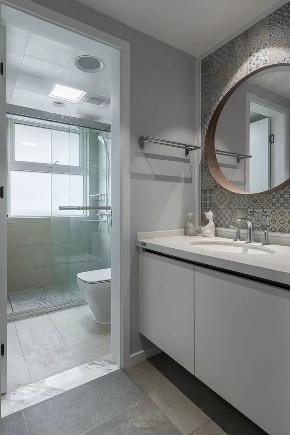 简约 二居 白领 收纳 旧房改造 80后 小资 卫生间图片来自今朝小伟在清新脱俗 色彩丰富的极简风的分享