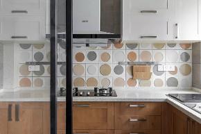 简约 二居 白领 收纳 旧房改造 80后 小资 厨房图片来自今朝小伟在清新脱俗 色彩丰富的极简风的分享