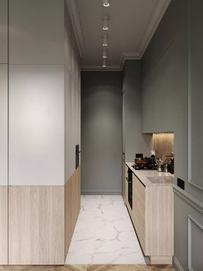 白领 收纳 旧房改造 80后 小资 玄关图片来自今朝小伟在75平的公寓显示出生活的精致优雅的分享