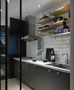 三居 白领 收纳 旧房改造 80后 小资 厨房图片来自今朝小伟在90平自然田园北欧风格三室一厅的分享
