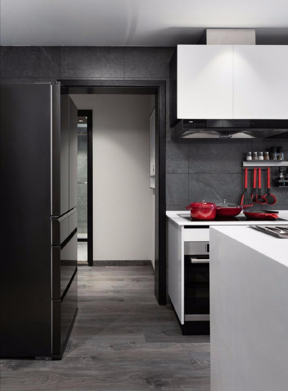 简约 白领 收纳 二居 旧房改造 80后 小资 厨房图片来自今朝小伟在110平米 两居两卫 简约案例的分享