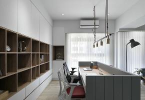 三居 白领 收纳 旧房改造 80后 小资 书房图片来自今朝小伟在90平自然田园北欧风格三室一厅的分享