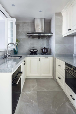 白领 收纳 旧房改造 80后 小资 厨房图片来自今朝小伟在简欧复式,打造清新居心地的分享