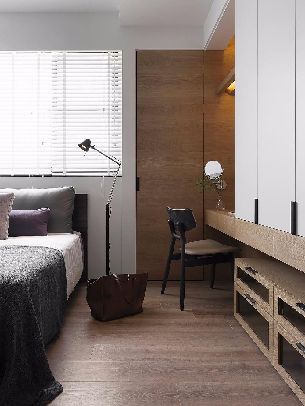 混搭 二居 白领 收纳 旧房改造 80后 小资 卧室图片来自今朝小伟在混搭时尚风。来自蓝色调的分享