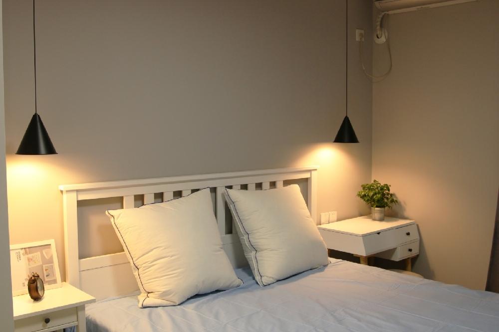 二居 白领 收纳 旧房改造 80后 小资 卧室图片来自今朝小伟在北欧风格平淡中的幸福的分享