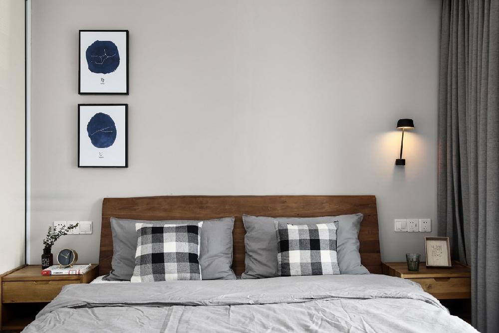 简约 三居 白领 收纳 旧房改造 80后 小资 卧室图片来自今朝小伟在极简才是我们的生活方式的分享