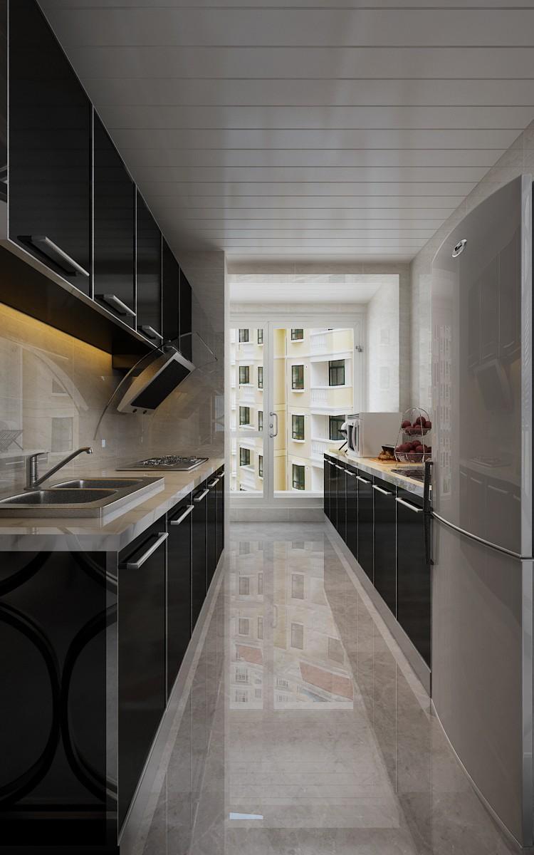混搭 三居 白领 收纳 旧房改造 80后 小资 厨房图片来自今朝小伟在后现代 混搭港式 黑白灰的分享