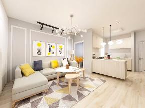 二居 白领 收纳 旧房改造 80后 小资 客厅图片来自今朝小伟在轻松简单北欧风,开启人生新阶段的分享
