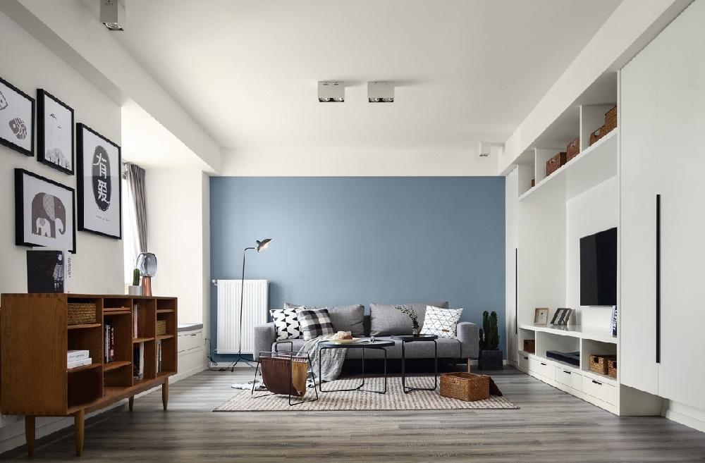 简约 三居 白领 收纳 旧房改造 80后 小资 客厅图片来自今朝小伟在极简才是我们的生活方式的分享