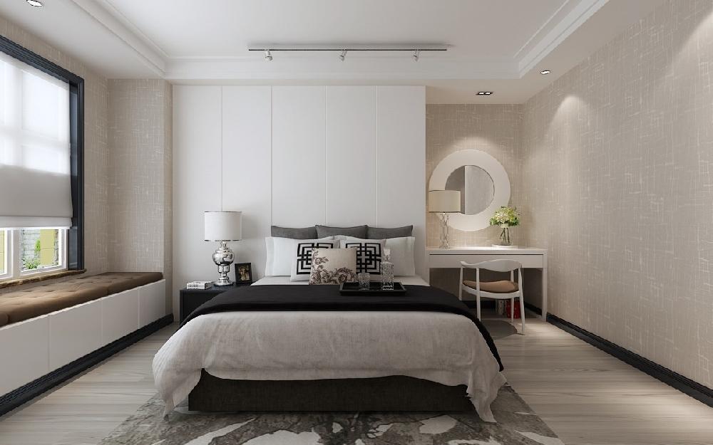 混搭 三居 白领 收纳 旧房改造 80后 小资 卧室图片来自今朝小伟在后现代 混搭港式 黑白灰的分享