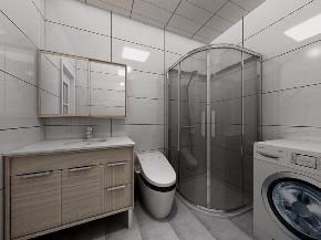 二居 白领 收纳 旧房改造 80后 小资 卫生间图片来自今朝小伟在轻松简单北欧风,开启人生新阶段的分享