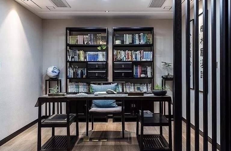 三居 白领 收纳 旧房改造 小资 80后 书房图片来自今朝小伟在新中式远离了都市喧嚣 宁静悠闲的分享
