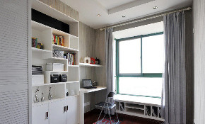 二居 白领 收纳 旧房改造 80后 小资 书房图片来自今朝小伟在小户型书房设计,恰到好处的的分享