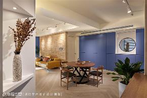 装修设计 装修完成 混搭 餐厅图片来自幸福空间在126平,围塑美式混搭休闲风的分享