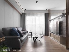 装修设计 装修完成 现代风格 客厅图片来自幸福空间在66平,现代设计 刻划风雅质感宅的分享