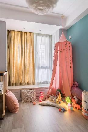 三居 白领 收纳 旧房改造 80后 小资 儿童房图片来自今朝小伟在89㎡北欧三居室,既清新又暖心~的分享