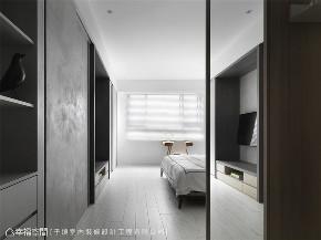 装修设计 装修完成 现代风格 卧室图片来自幸福空间在99平,缔造自然流动空气感的分享