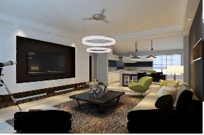 二居 简约 客厅图片来自晋级装饰官方在华润橡树湾122平现代简约风格的分享