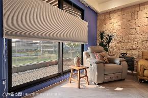 装修设计 装修完成 混搭 阳台图片来自幸福空间在126平,围塑美式混搭休闲风的分享