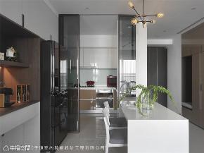 装修设计 装修完成 现代风格 厨房图片来自幸福空间在66平,现代设计 刻划风雅质感宅的分享