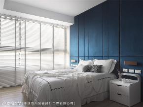 装修设计 装修完成 现代风格 卧室图片来自幸福空间在66平,现代设计 刻划风雅质感宅的分享