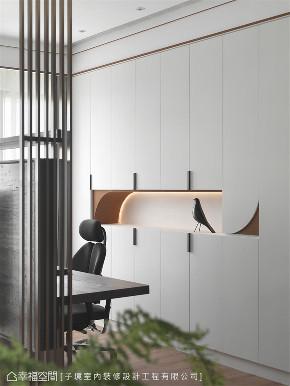 装修设计 装修完成 现代风格 书房图片来自幸福空间在66平,现代设计 刻划风雅质感宅的分享