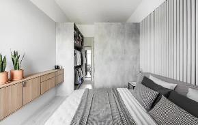 简约 三居 白领 收纳 旧房改造 80后 小资 卧室图片来自今朝小伟在极简盐系风,挡不住的魅力的分享